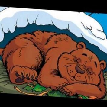 Открытку, медведь и солнце картинки к сказке