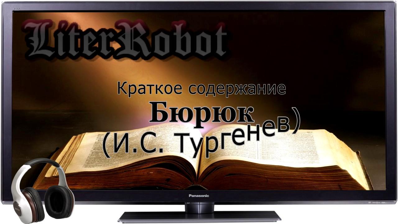 I. Turgenev, Biryuk: what is the main theme of the story 74